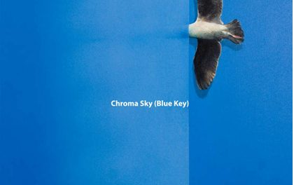 "Catalin Petrisor ""Chroma Sky (Blue Key)"" @ Anaid Art Gallery din Bucuresti"