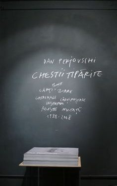 "Dan Perjovschi ""Chestii tiparite"" @ Galeria Posibila, Bucuresti"