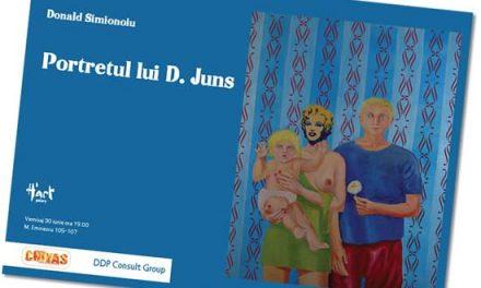 """Donald Simionoiu Expozitie de pictura """"Portretul lui D.Juns"""" la H'art Gallery, București"""
