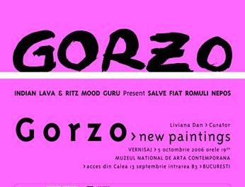 "Dumitru Gorzo ""INDIAN LAVA & RITZ MOOD GURU Present SALVE FIAT ROMULI NEPOS"" @ MNAC și H'art Gallery"