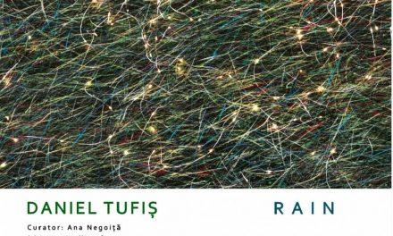 Daniel Tufiș expune instalația multi-media RAIN @ Galeria Foișor, Centrul Cultural Palatele Brâncovenești de la Porțile Bucureștiului – Mogoșoaia