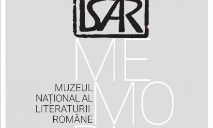 "Expoziția""In memoriamIuri Isar"" @ Muzeul Național al Literaturii Române"