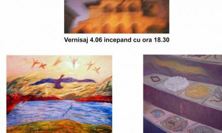 """Expoziție Daniel Crăciun """"Din registrul Neo-simbolist și din cel oniric"""" DEMISOLUL ORDINULUI ARHITECțILOR DIN ROMâNIA (FILIALA BUCUREșTI)"""