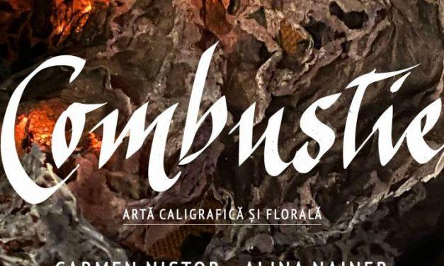 Expoziție de artă caligrafică și florală Carmen Nistor   Alina Nainer @ Galeria Galateca, București