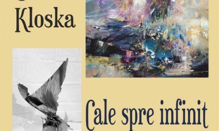 """Expoziție personală de pictură și sculptură înmetal OVIDIU KLOSKA """"Cale spre Infinit"""" @ Galeria Frunzetti din Bacău"""
