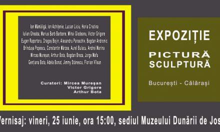 """Expoziție """"Pictură Sculptură, București-Călărași"""" @ Muzeul Dunării de Jos, Călărași"""