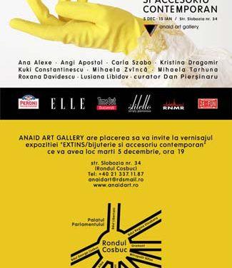 Extins / bijuterie şi accesoriu contemporan @ Anaid Art Gallery