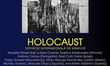 """Expoziția internațională de grafică """"Holocaust"""" @ Muzeul de Artă din cadrul Palatului Culturii Iași"""