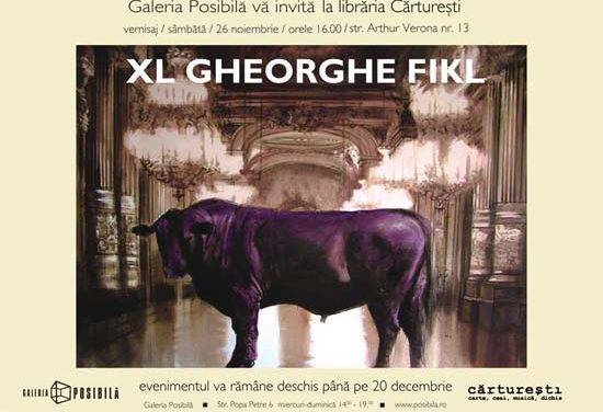 """GHEORGHE FIKL """"XL"""" @ librăria Cărturești, Verona"""