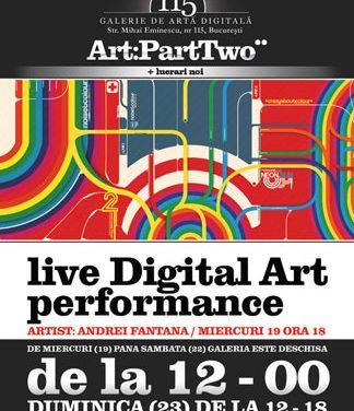 Live Digital Art Performance @ Galeria de Artă Digitală 115