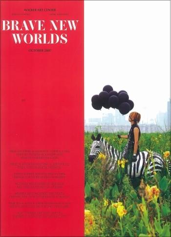 """Mircea Cantor, Dan Perjovschi, Lia Perjovschi in """"Brave New Worlds"""" at Walker Art Center Minneapolis US"""