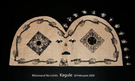 """Misionarul No Limits """"Kagule"""" @ galeria 29, Bucuresti"""