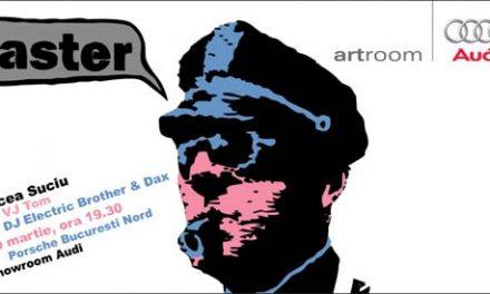 """Mircea Suciu expozitie de artă pop """"FASTER"""" @ Audi ArtRoom"""