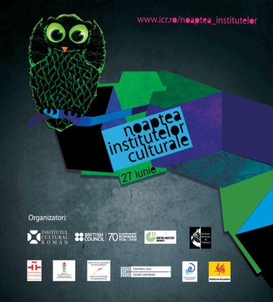 Noaptea Institutelor Culturale, ediția a doua