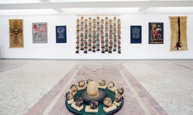"""Expoziție de artă decorativă textilă, Nicolae Zîmbroianu, Centrul Cultural UNESCO """"Ionel Perlea"""" Slobozia"""