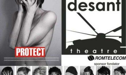 """premiera spectacolului de coregrafie """"PROTECT"""" @ Teatrul Desant, Bucuresti"""