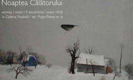 """Stefan Caltia """"Noaptea calatorului"""" @ Galeria Posibila, Bucuresti"""