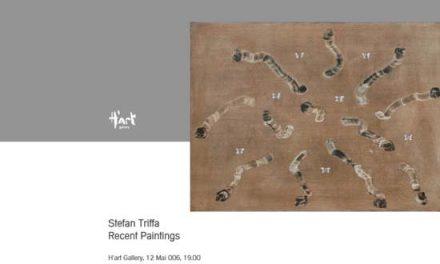 """STEFAN TRIFFA """"RECENT PAINTINGS"""" la H'art Gallery, București"""