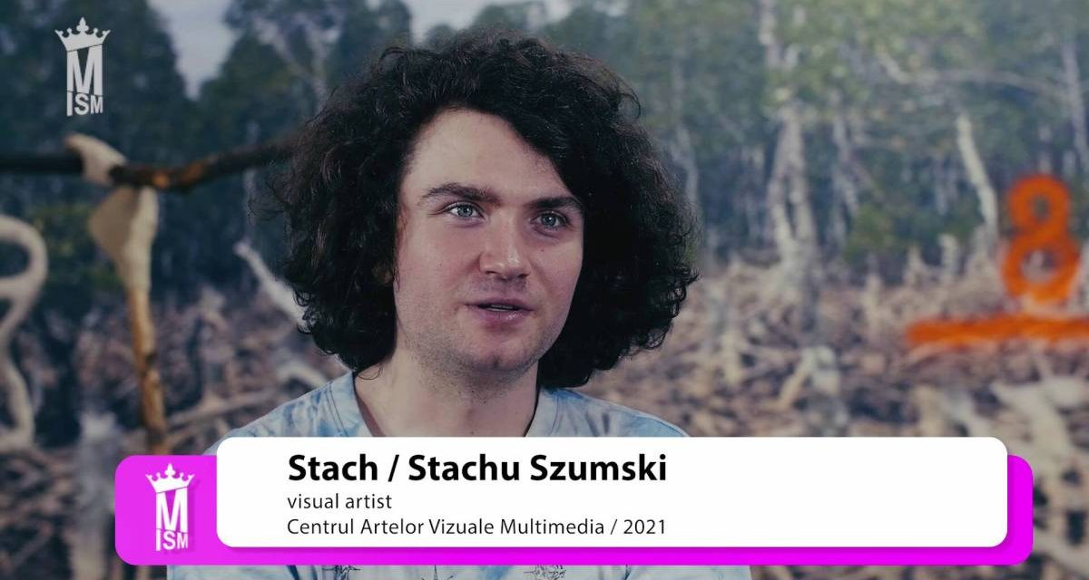 Stach Szumski la Centrul Artelor Vizuale Multimedia