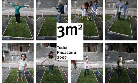 """Tudor Prisacariu, """"3m2"""" revine la Carturesti"""