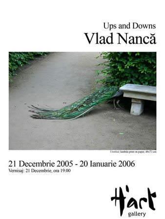 "VLAD NANCA ""Ups and Downs"" @ H'ART GALLERY, București"