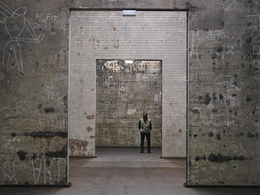 Dan Perjovschi: White Chalk, Dark Issues @ Kokerei Zollverein, Essen