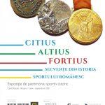 "Expoziție ,,CITIUS, ALTIUS, FORTIUS! Secvențe din istoria sportului românesc"" @ Muzeul Judetean de Istorie Brasov"
