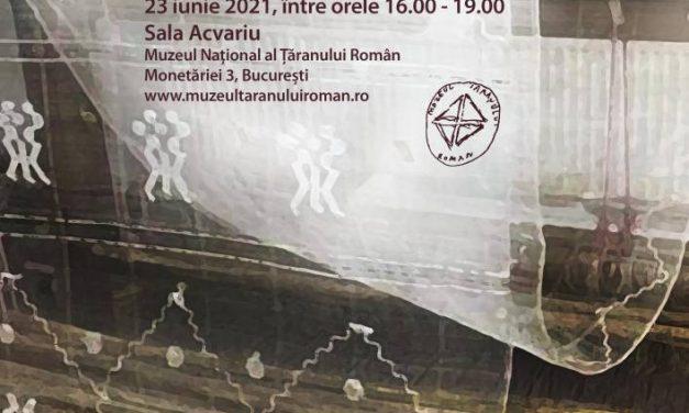 Pe firul de borangic // Expoziția-atelier a meșterului Cristina Niculescu @ Muzeul Național al Țăranului Român