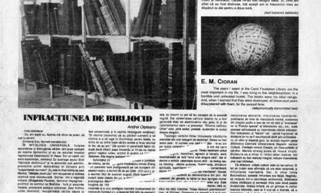 """Expoziția """"cARTe"""", Muzeul Colecțiilor de Artă, 15 mai – 6 iunie 1991"""