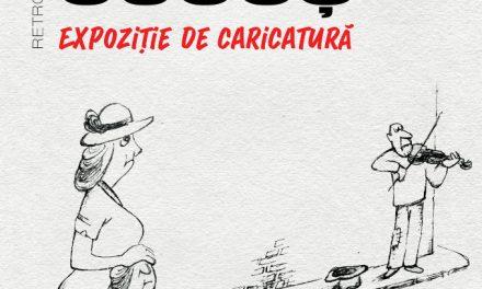 """Expoziția de caricatură """"Retrospectiva Costică Cucoș"""" @ Muzeul de Artă Bacău"""