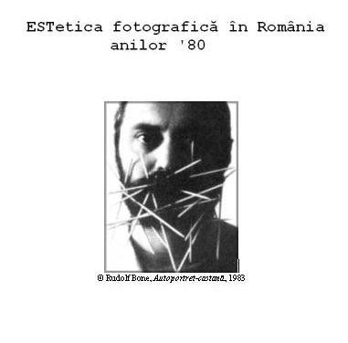 ESTetica fotografică în România anilor '80