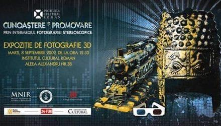 """Expoziţia de fotografie 3D """"Cunoaştere şi promovare prin intermediul fotografiei stereoscopice"""" @ Institutul Cultural Român"""