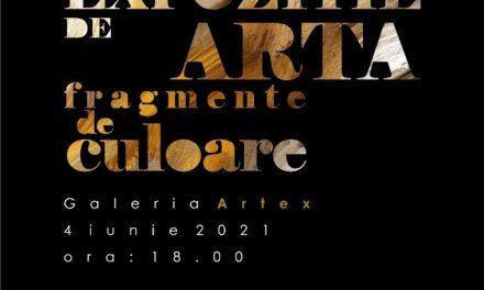 """Expoziție """"Fragmente de culoare"""", a Filialei Constanța 1 a Uniunii Artiștilor Plastici din România @ Galeria Artex, Râmnicu Vâlcea"""