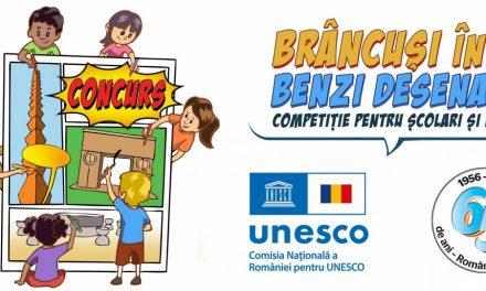 Concurs de Benzi Desenate dedicat marelui sculptor Constantin Brâncuși