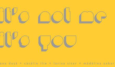 """Promotia 2008 a Universitatii de Arte Bucuresti """"It's not me it's you"""" @ Galeria Andreiana Mihail, Bucuresti"""