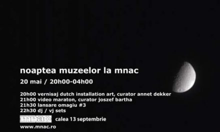 Noaptea Muzeelor la MNAC