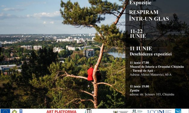 """Exposition """"Breathing with One Voice"""" at Museum of the History of the City of Chisinau, rep. Moldova"""
