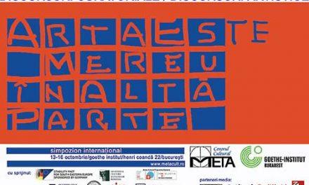 Simpozionul international Discursuri Artistice/Discursuri Curatoriale
