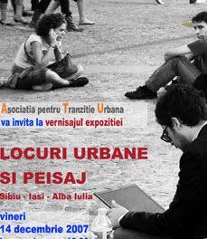 Expo Locuri Urbane si Peisaj (Sibiu-Iasi-Alba Iulia)