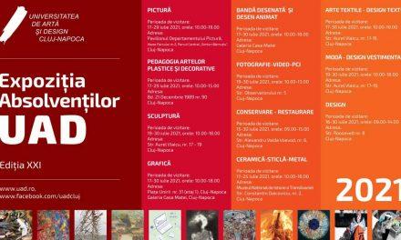 EXPOZIŢIA ABSOLVENŢILOR UNIVERSITĂŢII DE ARTĂ ŞI DESIGN DIN CLUJ-NAPOCA Ediția XXI