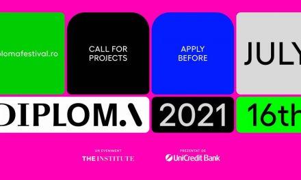 Festivalul DIPLOMA: apel deschis pentru promoția 2021 de artiști, arhitecți și designeri