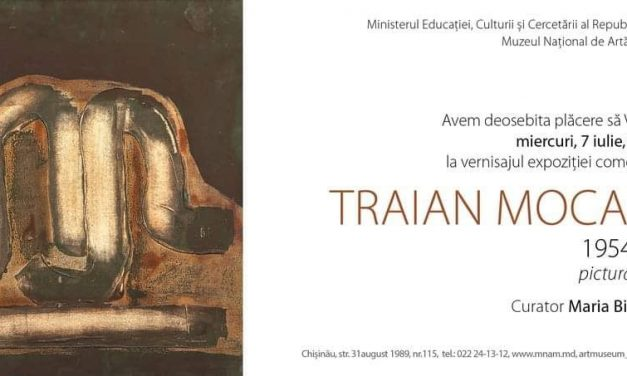 Expoziție de pictură și grafică – Traian Mocanu @ Muzeul Național de Artă al Moldovei, Chișinău, Republica Moldova