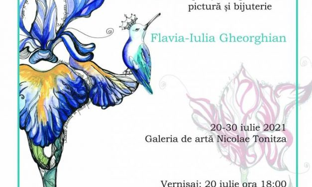 """Flavia-Iulia Gheorghian expoziția de grafică, pictură și bijuterie """"Morgenstimmung"""" @ Galeria de Artă """"N. Tonitza"""", Iași"""