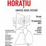"""Expoziție-eveniment """"Horațiu – grafică, desen, pictură"""" @ Muzeul Național al Literaturii Române"""