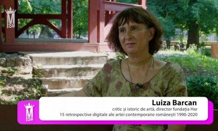 Luiza Barcan – 15 retrospective digitale ale artei contemporane românești 1990-2020