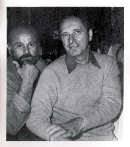 Mircea Deac și George Apostu în tabăra de la Măgura 1970