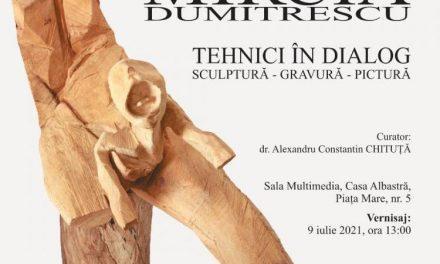 """MIRCIA DUMITRESCU, """"TEHNICI ÎN DIALOG, SCULPTURĂ, GRAVURĂ, PICTURĂ"""" @ Muzeul Național Brukenthal, Sibiu"""