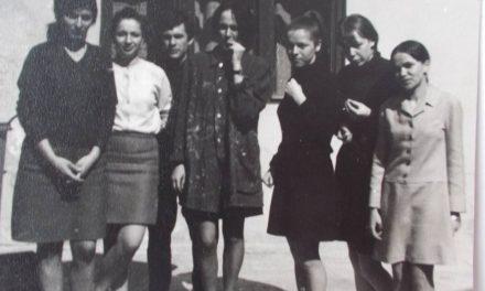 Margareta Nemeș, Elena Minodora Tulcan, Gheorghe Crăciun, Eugenia Pop, Marta Jakobovits, Arina Ailincăi, Crăciun Judit în 1966