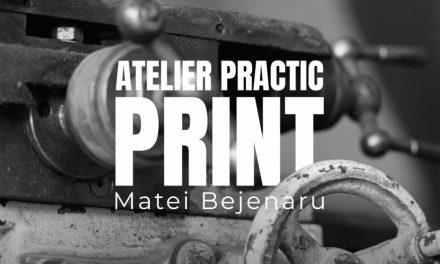 """""""PRINT"""". Matei Bejenaru. Curs practic de tehnică fotografică în atelierul artistului"""