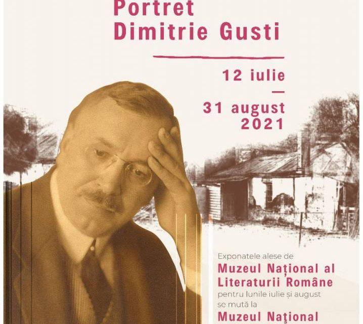 Micro-expoziția Portret Dimitrie Gusti organizată de MNLR la Muzeul Național al SatuluiDimitrie Gusti